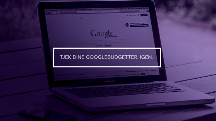 Googlebudgetter