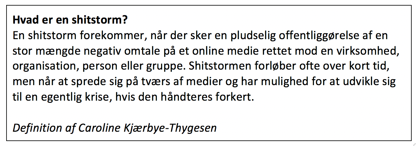definition på shitstorm