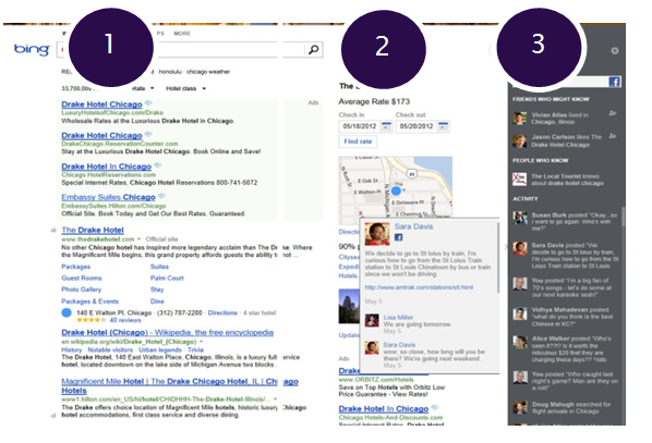 Bing, Social Search, Example, Mindshare