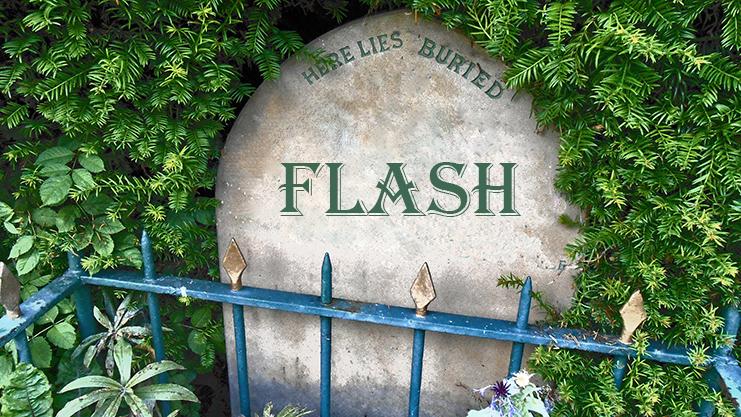 RIP FLASH, VIVA HTML5