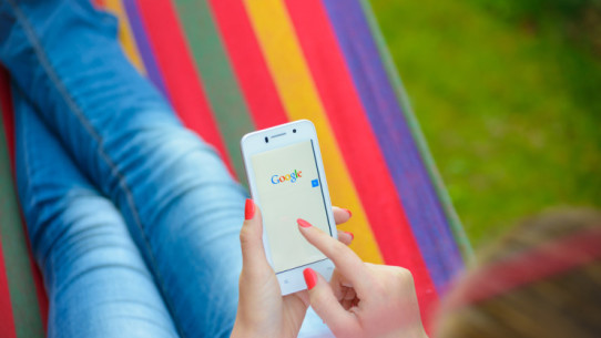 mobilt sök Google